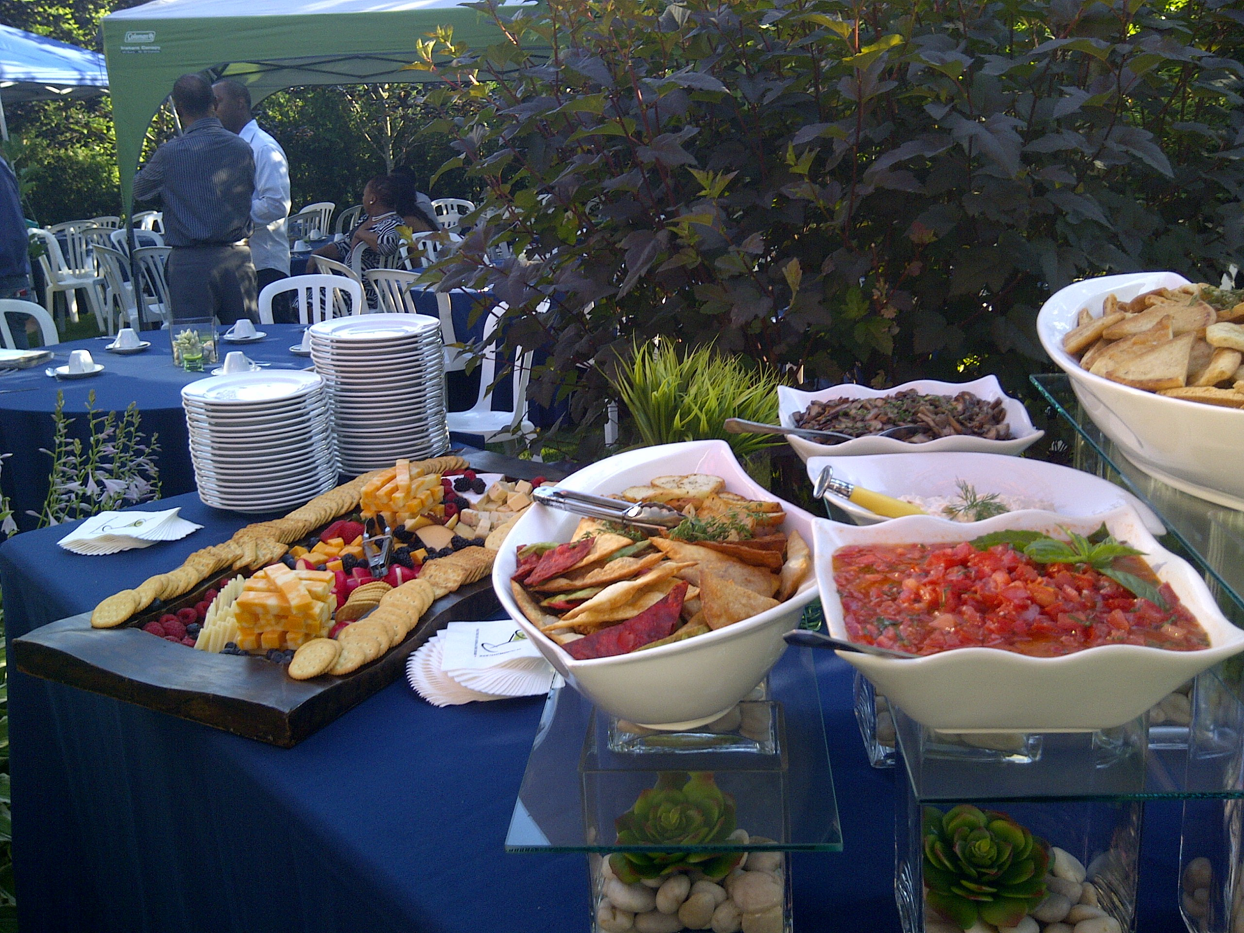 oakville 39 s backyard bbq menu oakville catering by feast your eyes